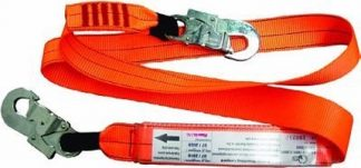 Shock Absorbing Lanyard Single Leg
