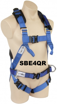 "SBE4 Harness, Webbing waist belt, Work Positioning ""D"" rings"