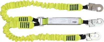 Elasticated Webbing Lanyard Double Leg