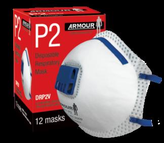 ARMOUR Respirator Valved P2