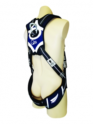 Premium Harness with Padded Waist Belt-D Rings-Confined Space Loops