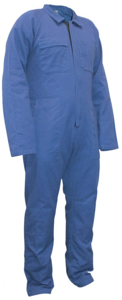 Cotton Overalls Royal Blue