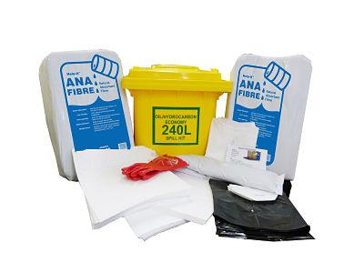 Oil Spill Kit 240 litre Economy