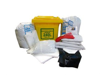 Oil Spill Kit 240 litre Premium