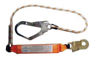 Kernmantle Rope Lanyard Single Leg