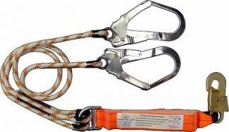 Kernmantle Rope Lanyard Double Leg Scaffolding Hooks