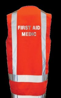 DAY NIGHT VEST MEDIC FIRST AID