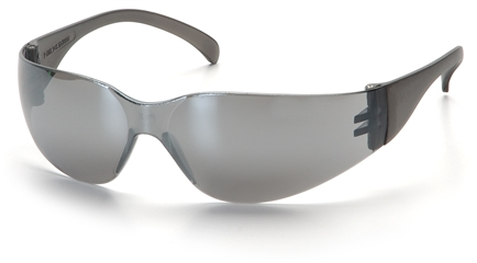 Safety Glasses Blue Mirror Lens