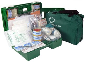 Industrial 1-25 Person First Aid Kit - Soft Pack
