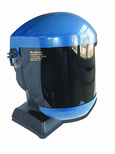 Adjustable Head Gear : Browguard blue eagle fully adjustable head gear with lift