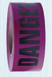Danger Barricade Tape Red