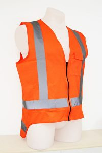 Orange Day Night Vest
