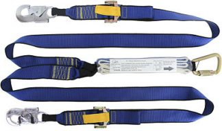 Adjustable Heavy Duty Double Leg Lanyard