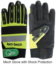 Mech Glove-Shock Protection