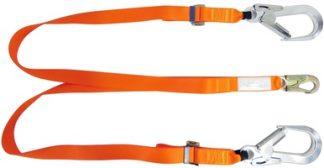 Double Leg Adjustable Restraint Lanyard