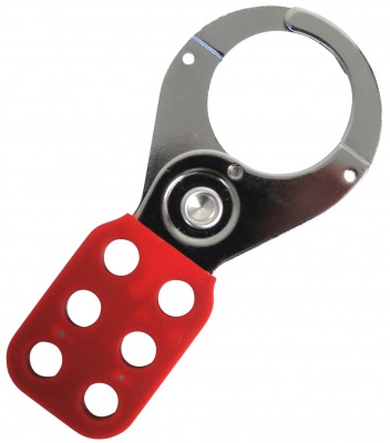 1 inch HASP Steel Lockout