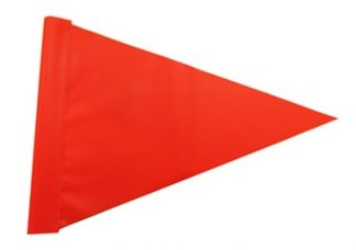 Hi Vis Triangle Flag.