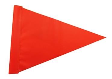 Hi Vis Triangle Flag.