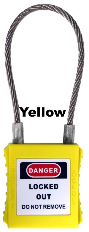 Safety Padlock Wire Hasp