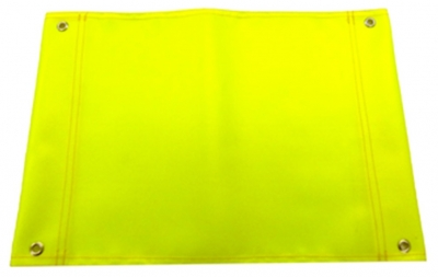 Hi Vis Flag Yellow