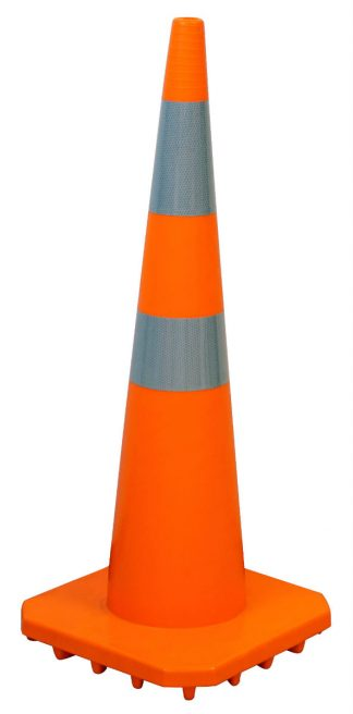 narrow road cone
