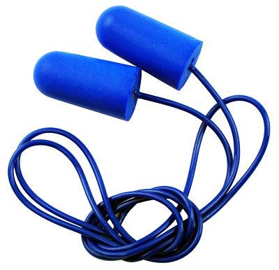blue ear plugs