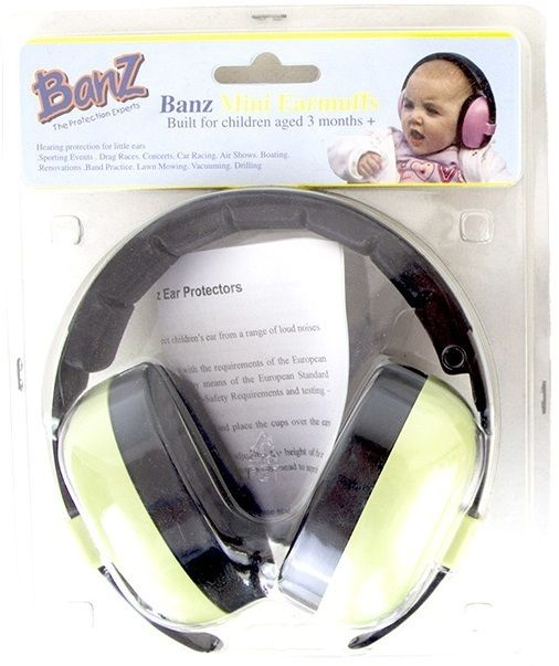 971c8444820 Childs Ear Muffs Over Head Secure Fitting With Low Pressure Clamping
