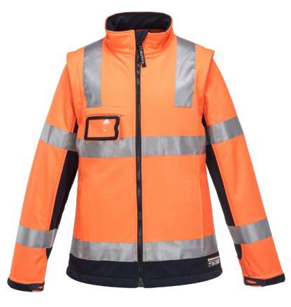 Ladies Hi Vis Jacket